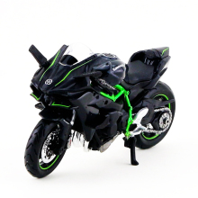 Kids toys 1:18 Black H2R 1/18 Kawasaki Ninja Maisto Diecast Motorbike Vehicles 1/18 Diecast Moto Kids Toys Collection Gifts