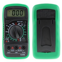 New XL830L LCD Digital Multimeter Current Voltage Resistance Transistor Temperature Tester Meter Multimetro SA723 T40(China)