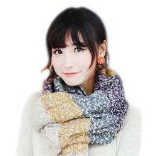 Autumn Winter Women Ladies Long Soft Thicken Mohair Scarf Wrap Warm Large Shawl Scarves TQ