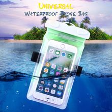 FLOVEME Waterproof Clear Bag Case Screen Touchable Mobile Phone Accessories Water Proof Pouch For iPhone 7 6 6S 5S 5 SE Case(China)