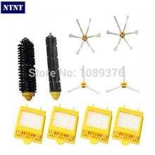 NTNT Free Post New Brush 3 & 6 armed Pack For iRobot Roomba Vacuum Parts 700 Series 760 770 780 790(China)