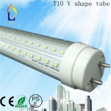 (100 pcs/lot) T10 V shape tube 48W 8ft 40W 6ft 30W 5ft/3ft 24W 4ft 20W 2ft SMD2835 LED Tube light to replace fluorescent light