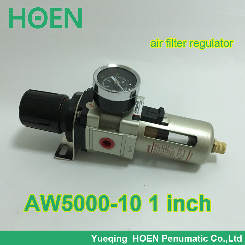 AW5000-10 PT1 SMC type pneumatic air filter regulator with Manual drain 1 inch air treatment unit<br><br>Aliexpress