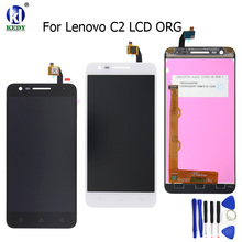 "Buy 100% Tested Lenovo Vibe C2 K10A40 5.0""inch LCD DIsplay +Touch Screen Digitizer Sensor Glass Assembly Replacement Free Tools for $18.80 in AliExpress store"