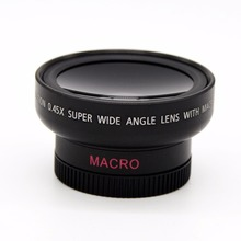 Buy 46mm UV 37mm 0.45x Wide Angle Macro Conversion Lens 0.45x 37 mm Wide-Angle Lens Canon Nikon Macro Mobile Lens for $8.54 in AliExpress store