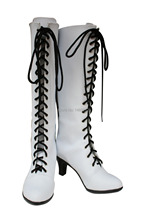 Black Butler Angel Ash Landers cosplay Shoes Boots Custom-Made(China)