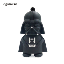 Buy Darth Vader usb flash drive 32GB 64GB pen drive 4GB 8GB 16GB Star Wars black man pendrive stick disk flash memory real capacity for $3.07 in AliExpress store