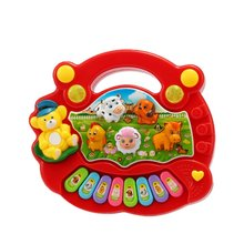 EBOYU(TM) Baby Kids Toddler Musical Educational Animal Farm Piano Electronic Keyboard Music Development Kids Toy