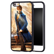 Newt Scamander Fantastic Beasts and Where to Find Them Soft Rubber Phone Cases For iPhone 6 6S Plus 7 7 Plus 5 5S 5C SE 4S Cover