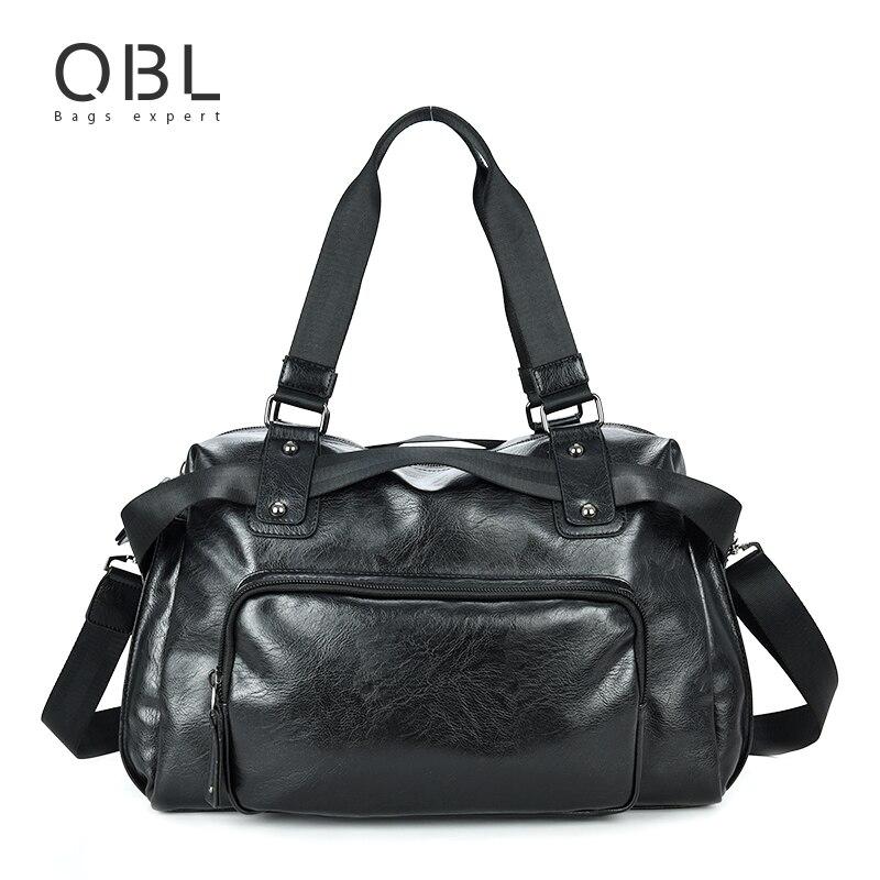 QiBoLu Handbags Man Bags Business Travel Tote Messenger Crossbody Shoulder Bag for Men Sacoche Homme Bolsa Masculina MBA16<br>