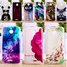 Soft TPU & Hard Plastic Phone Cover For HTC Desire 510 D510 Cases Colorful Fashion Pictures Mobile Phone Parts