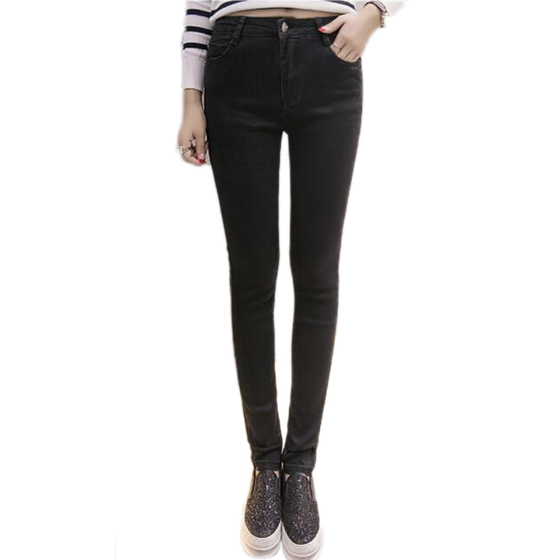 New arrival  Jeans Woman High Waist Jeans Femme Stretch Womens Pants Denim Women Jeans Trousers For Women Slim Jeans BlueОдежда и ак�е��уары<br><br><br>Aliexpress