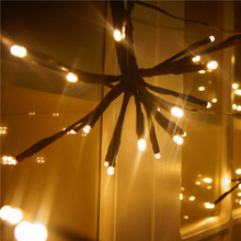 Hot Selling Free Shipping New Designed 2M100LED Warm White Explosion Light for Party House Bar Bedroom Livingroom Decoratin