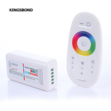 RGBW LED Controller 2.4G RF Wireless Touch Remote Control DC12-24V for RGBW LED Strip 1set/lot