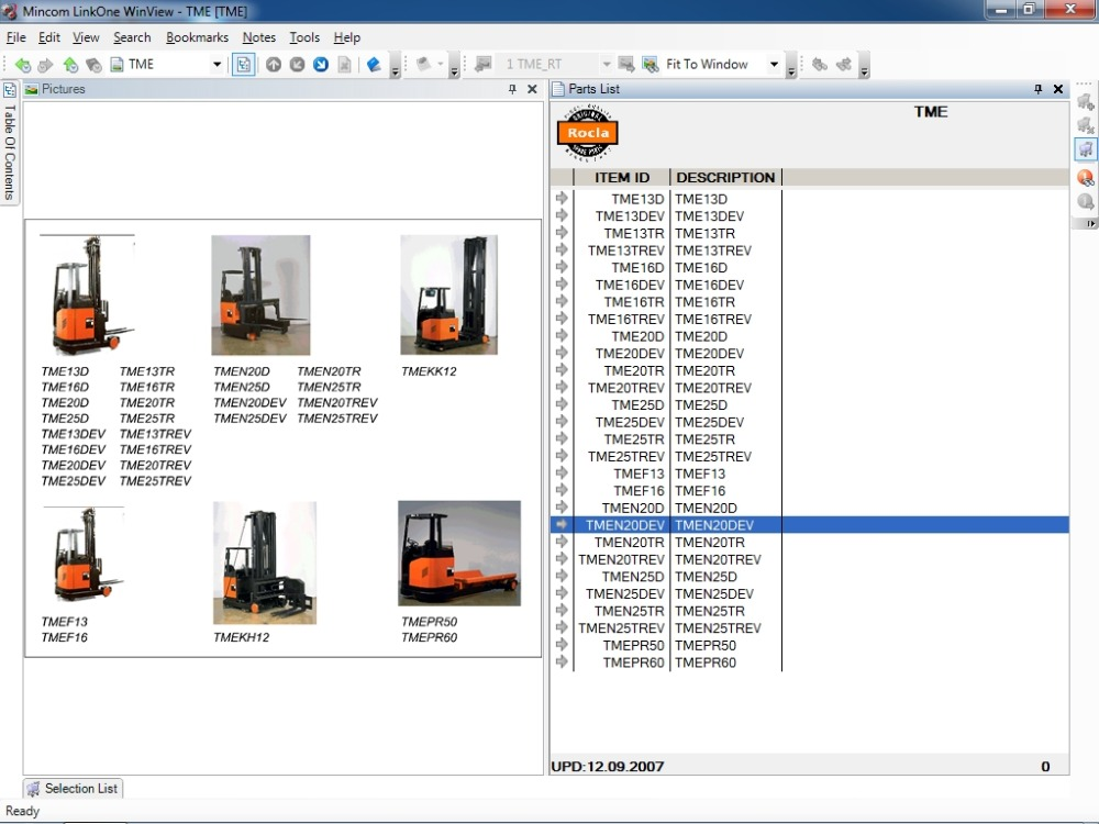 ROCLA Fork Lifts &amp; WAREHOUSE TRUCKS spare parts catalogue 2016<br><br>Aliexpress