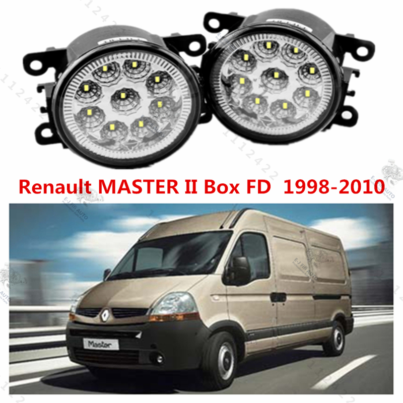 for RENAULT MASTER II Box (FD) 1998-2015 for front bumper high brightness LED Fog lights LAMPS LAMP Car styling white 1set<br><br>Aliexpress