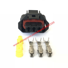 10 Sets 3 Pin Female Ford Falcon BA / BF Aux MAP Sensor Connector XR6 Turbo Models 936060-1 Alternator Repair Connector(China)