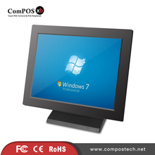 "Windows 15"" All In One Touch Screen POS/ POS Cash Register Customized Restaurant LCD Touch Screen POS For Software Company(China)"