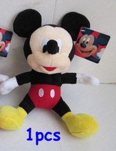 Free Shipping 1pcs Mickey Mouse Plush Animal Toys,28cm Mickey Plush Dolls For Christmas Gifts,kids gifts