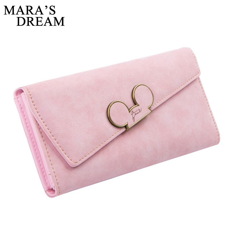 Maras Dream Fashion Women Wallet Scrub Hit Color Lnclined Lid Ladies Wallet Creative Design Hasp Clutch Coin Pocket Card Holder<br><br>Aliexpress