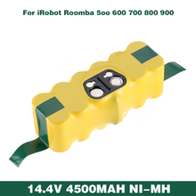 Ni-MH 14.4V 4500mAh Rechargeable Battery For iRobot Roomba Batmax Vacuum Cleaner 500 550 610 780 790 880 570 650 900