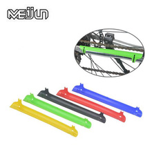2pcs New Mountain Bike Bicycle Frame Chain Stay Posted Protector Bicycle Bike Chain Guard Protection Cycling Accessories(China)