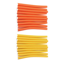 10pcs (Diameter:1.8cm)Magic Hair Curler Roller Soft Sponge Bendy Twist Curls Hair Care Easy Tool(China)