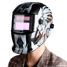 High Quality PP Professional Solar Welding Helmet Auto-Darkening Welder Mask Healthy Safe Protective Equipment
