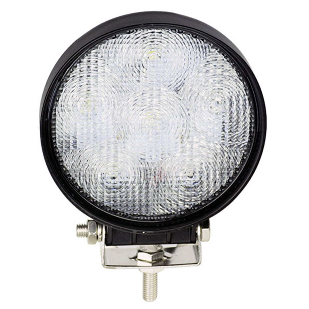 18W Flood Light  6X 3W Bead LEDs Offroad Round LED Car Work Light Waterproof Working Lamp Car Boat SUV Truck Driving Lights<br><br>Aliexpress