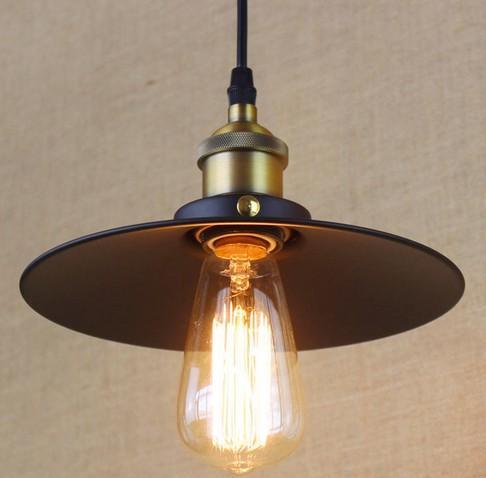 American Loft Iron Art Pendant Lights Simple Industrial Vintage Lighting For Living Dining Room Hanging Lamp Lamparas Colgantes<br>
