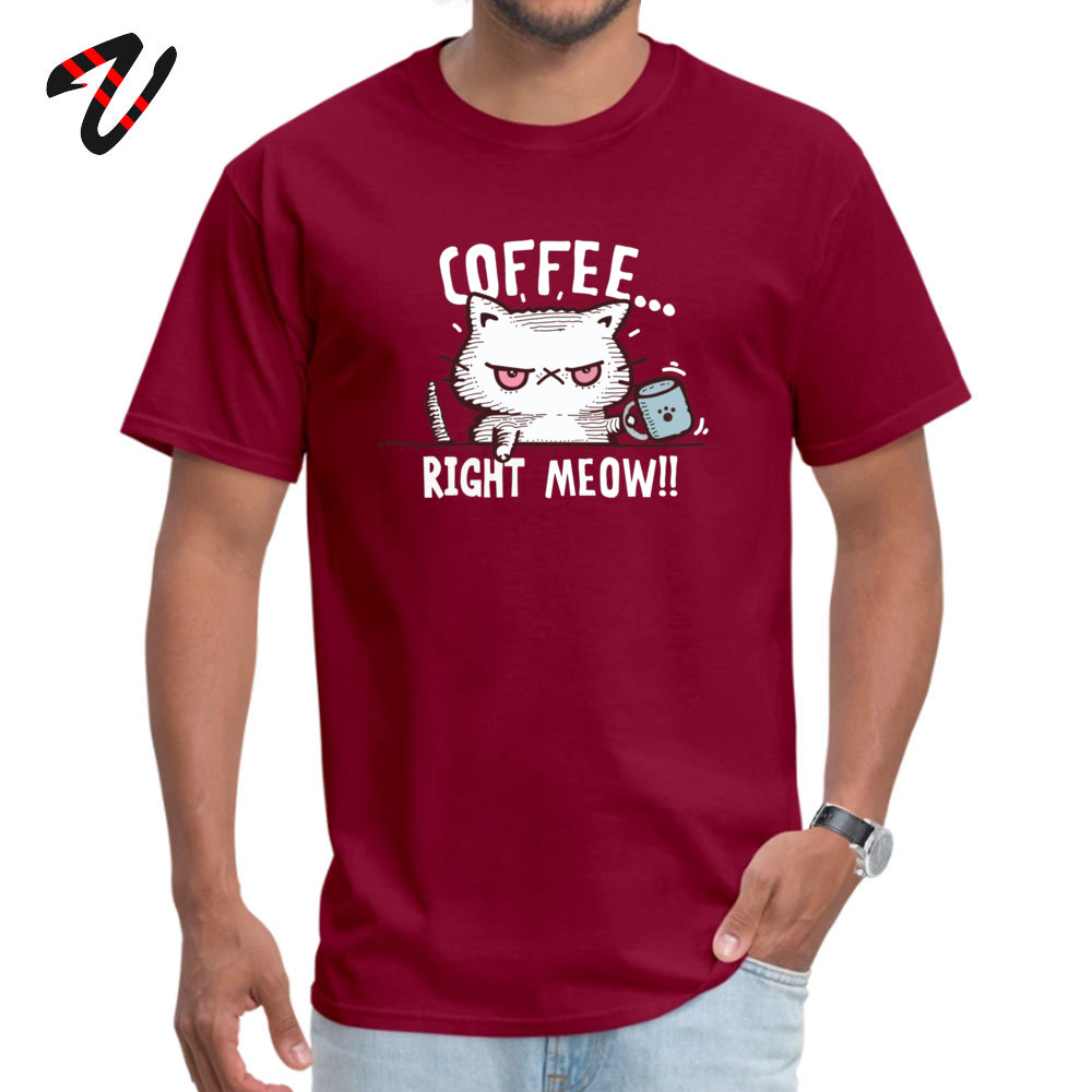 Leisure D O-Neck Top T-shirts April FOOL DAY Tees Short Sleeve for Students Dominant 100% Cotton Printed T-Shirt 3D 076 3161 maroon