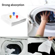 24pcs Color Dyeing cloth Washing Machine Use Color Absorption Sheet Anti dyed Cloth Laundry Papers Color Grabber cleaning Tools(China)