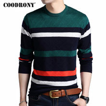 COODRONY Mens Sweaters 2017 Autumn Winter New Arrivals Cashmere Pullover Men Brand Clothing Knitted Wool O-Neck Sweater Men 7169(China)