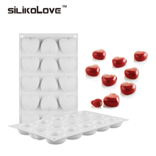 SILIKOLOVE Baking Molds For Brownie Chiffon Mousse Decorating Tools Silicone Roundish Bubble Cake New Silicone Forms For Kitchen(China)