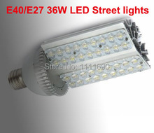 2014 AC85-265V 36W E40/E27 LED street lamps led spotlight E40 light led bulb 110V/220V 36*1W led streetlight