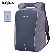 XQXA Anti Theft Business Backpack Men Bobby Backpack with Bluetooth Player Waterproof 15.6 Inch Laptop Notebook Backpacks Women(China)