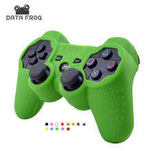 for Sony Playstation 3 Controller Silicone Case Protective Skin Cover Wrap Case for PS3 Controller Joystick Gel Rubber for PS3(China)