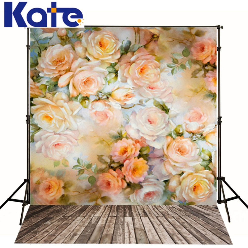200cm*150cm(6.5ft*5ft) photography backdrop Candy Children Yellow petal flower wood background for baby photography<br><br>Aliexpress