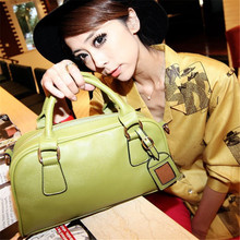 2016 summer new bag fashion mini tote bags for women shoulder bags candy color pu leather handbags