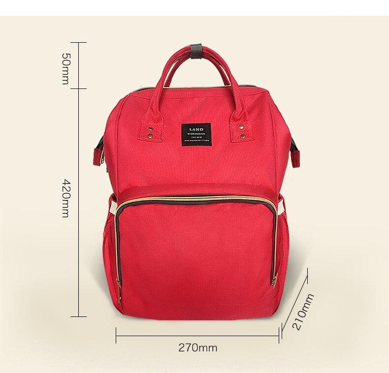 PYETA Maternity Mummy Nappy Bag Brand Large Capacity Baby Bag Travel Backpack Desinger Nursing Diaper Bag Baby Care<br>