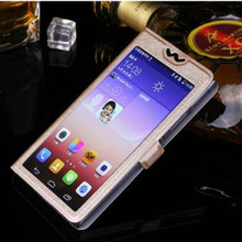 New Fashion Silk Full View Case Cover For Sony Xperia T3 T 3 M50W D5102 D5103 D5106 Flip Mobile Phone Bags Cases Free Shipping(China)