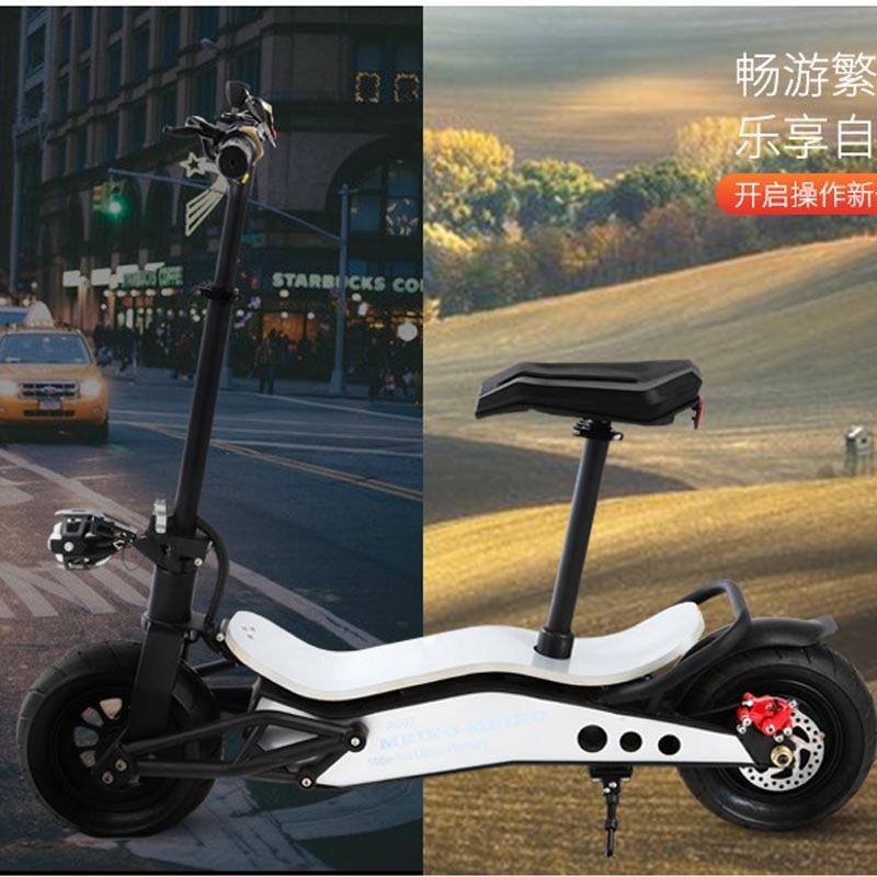 Fat Tire внедорожник встать и сиденье мощный электрический скутер мобильности transporter колесница 500 Вт 12 или 16ah литиевая батарея