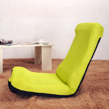 Comfortable Lazy sofa tatami single folding chair floor sofa bed lounger chair lunch break chair(China)