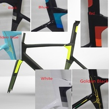 2017 Best Selling Full Carbon Frame , Carbon Bike Frame Bicycle Road frame racing carbon bike frame with Fork Headset