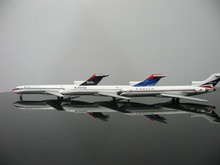 1:500 U.S Delta Air Lines Boeing 727-200 3-Pack Alloy Aircraft Model(China)