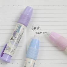 1 Pc Stationery Students Pen Shape Eraser Rubber Novelty Gift Eraser Estuches Escolar School(China)