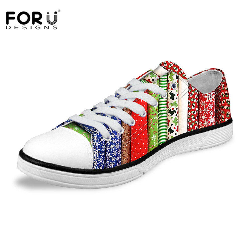 FORUDESIGNS Fashion Low Canvas Shoes Candy Color Stripe Canvas Shoes Student Casual  Walking Shoes Ladies Tide Shoes<br><br>Aliexpress