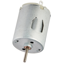 High Quality 5000 RPM 6V High Torque Cylinder Magnetic Electric Mini DC Motor Silver