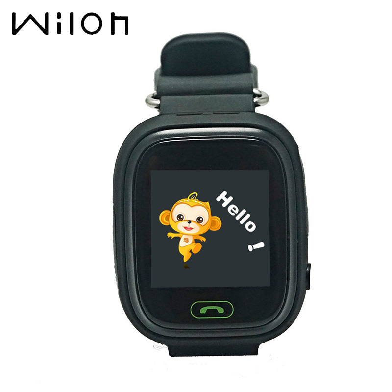 GPS Watch Location Call-Finder-Tracker Tracking WIFI Q50 Kids Q90 Children Touch-Screen title=
