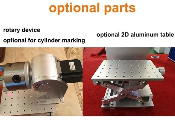MT-L20A laser martking optional parts 600